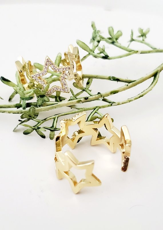 LDayDesigns Stars Ring