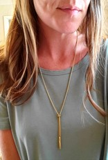LDayDesigns Adjustable Toggle Necklace- Stainless Steel