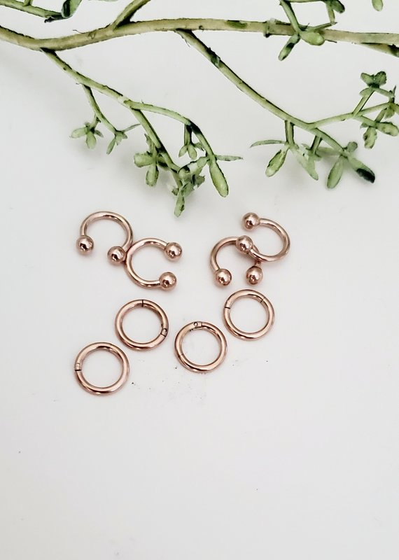 LDayDesigns Stainless Steel Nose Hoop