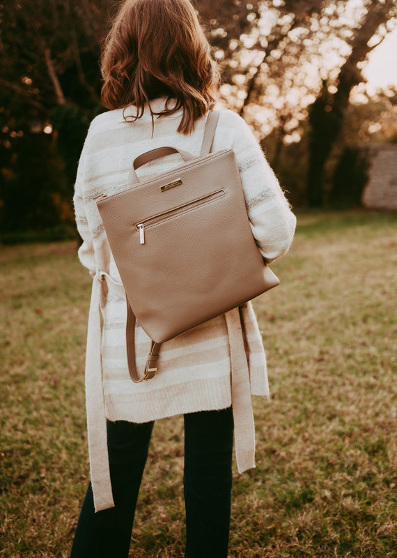 Brooke Backpack-Taupe