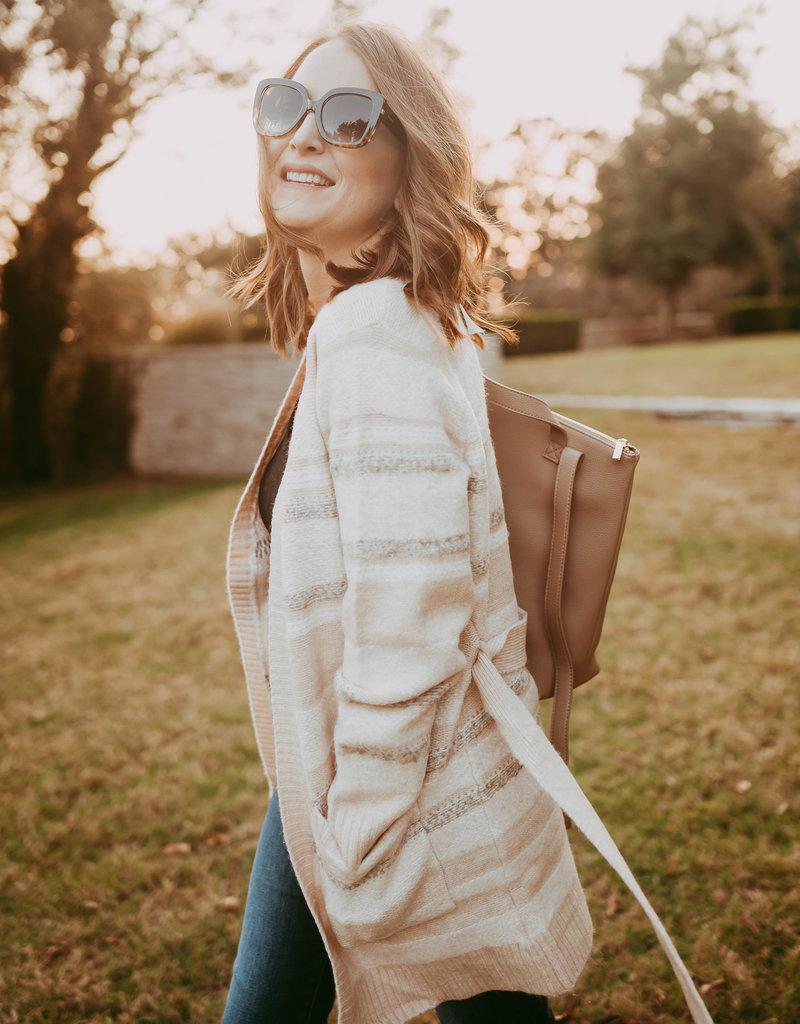 Brooke Backpack-Taupe