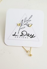 LDayDesigns Micro Butterfly-Sterling Silver