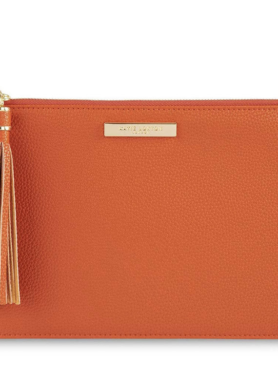 Tassel Pouch-Orange