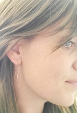 LDayDesigns Ear Climber-Sterling Silver