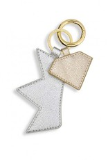 Crown & Diamond Keyring