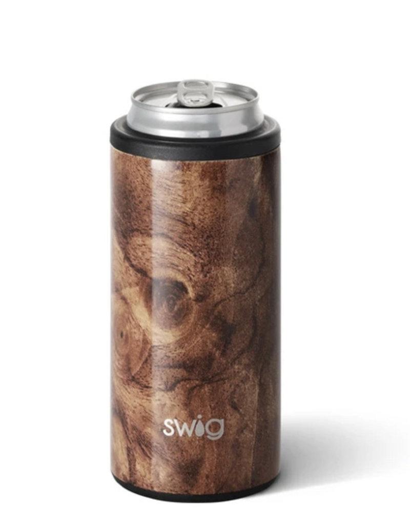 Wood Grain Skinny Can