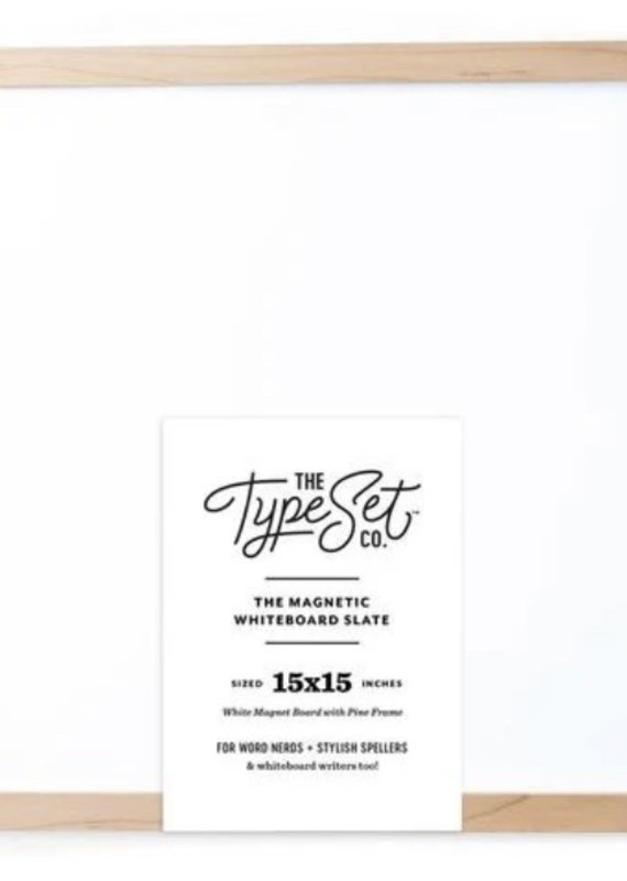 Type Set Co Magnetic Letter Board- Whiteboard