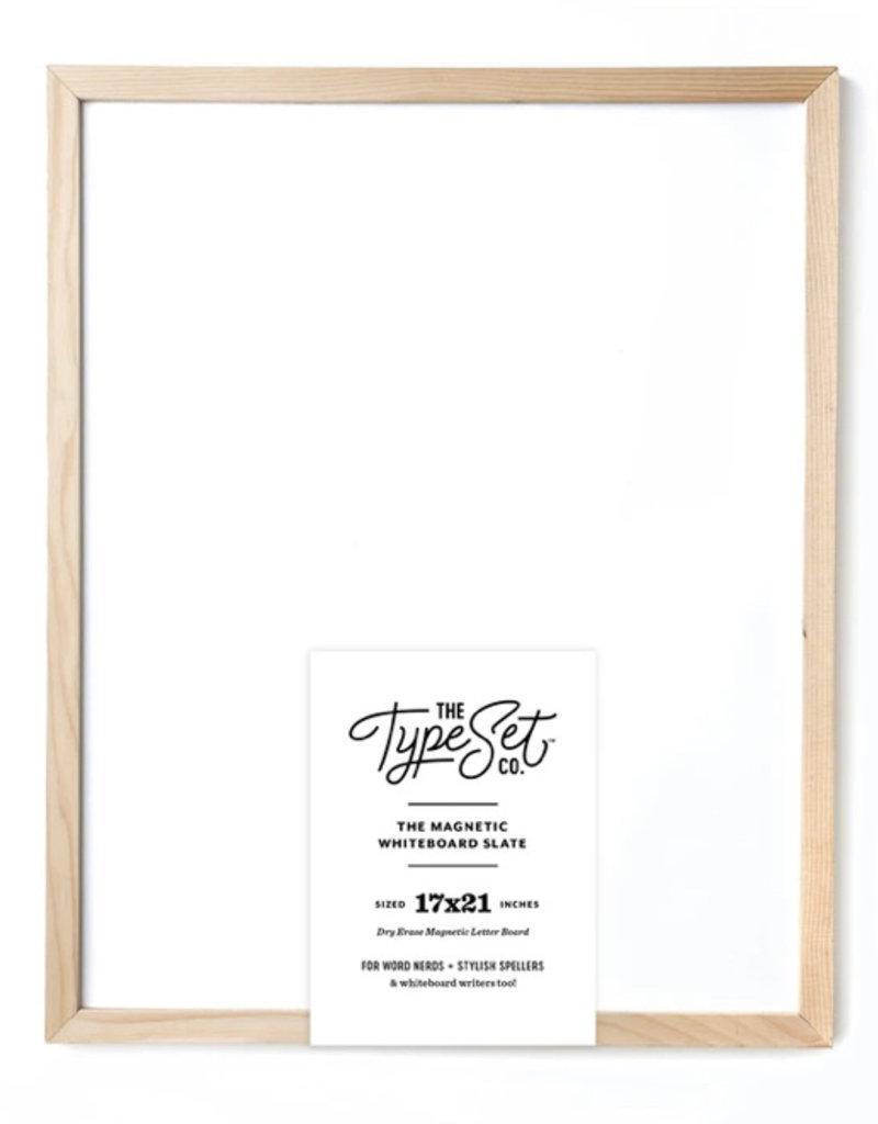 Type Set Co Magnetic Letter Board Big Whiteboard
