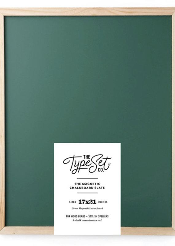 Type Set Co Magnetic Letter Board- Green Big
