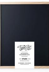 Type Set Co Magnetic Letter Board- Black Big