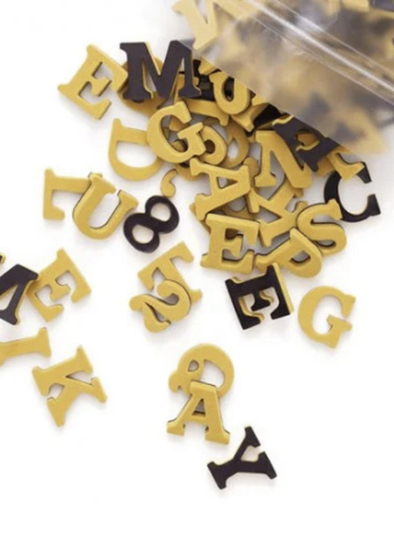 Type Set Co Magnetic Letters- Wild Honey