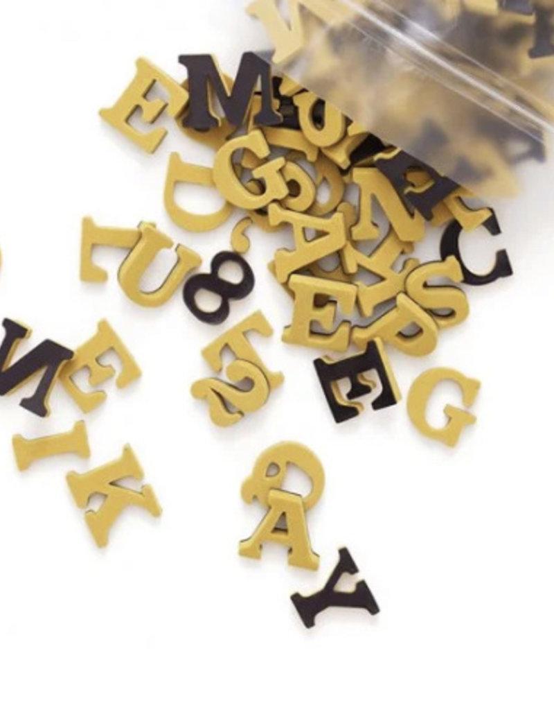 Type Set Co Magnetic Letters- Wild Honey