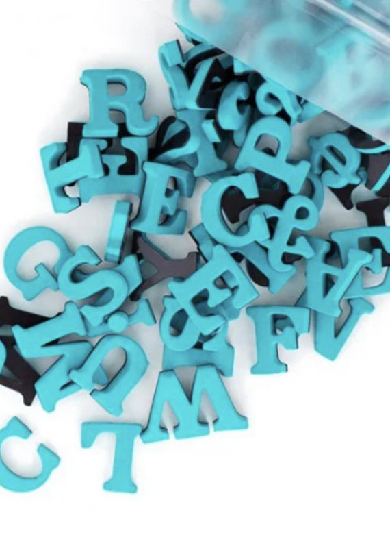 Type Set Co Magnetic Letters- Tropical Teal