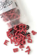 Type Set Co Magnetic Letters- Holly Berry