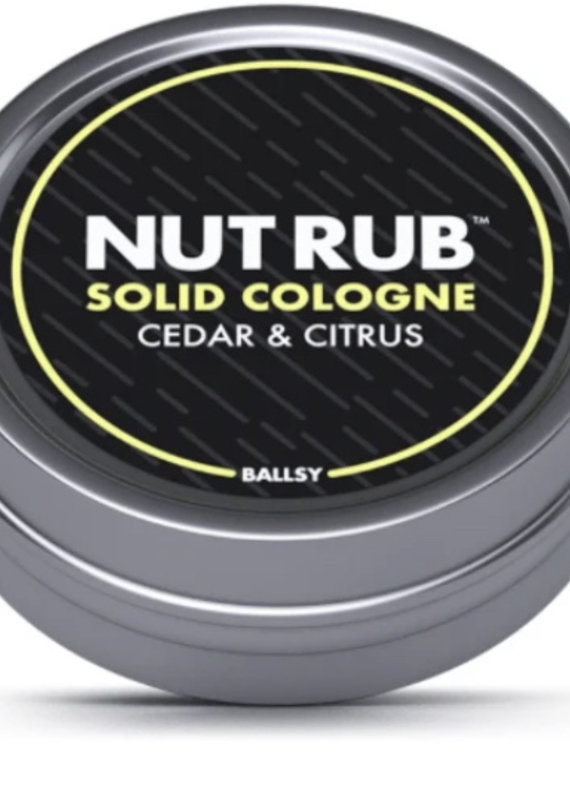 Ballsy Nut Rub- Cedar & Citrus