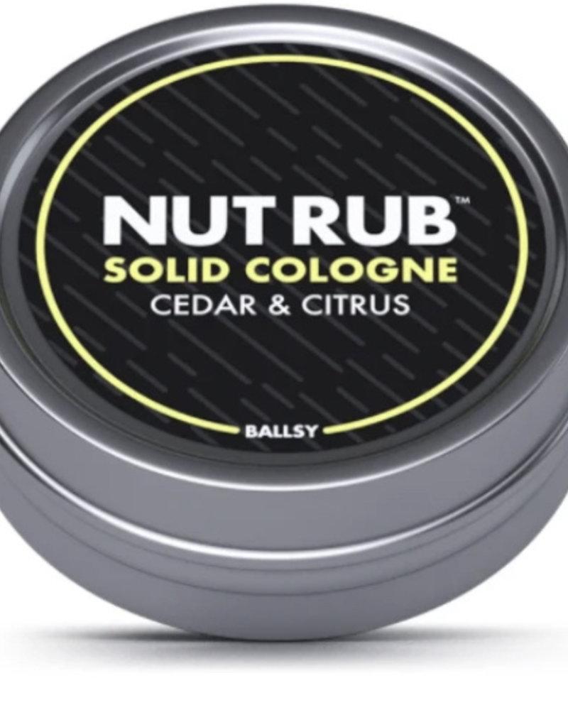 Ballsy Nut Rub- Cedar & Citrus