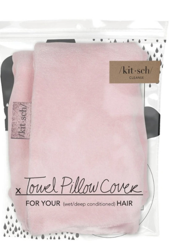 Kitsch Blush Towel Pillow Cover
