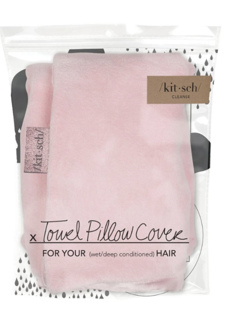Kitsch Blush Towel Pillow Cover