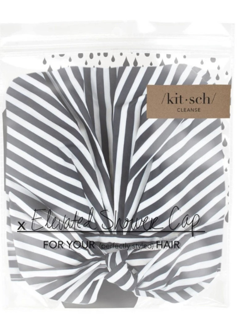 Kitsch Stripe Shower Cap