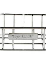Capri Blue Chrome Metal Caddy