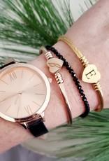 LDayDesigns BTE/ Smoky Quartz Beaded Bracelet