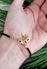 LDayDesigns BTE/Lapis Beaded Bracelet