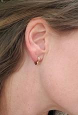 LDayDesigns Crystal Heart Ear Hugs