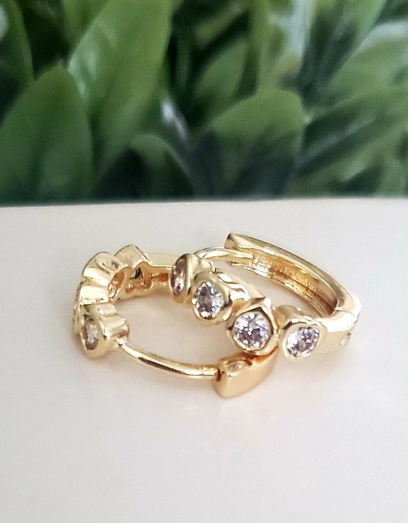 LDayDesigns Diamond Ear Hoop Hug
