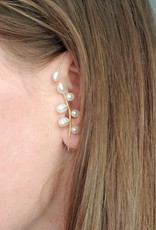 LDayDesigns No Pierce Pearl Ear Wrap