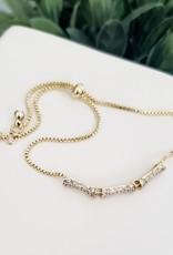 LDayDesigns Sparkle Bamboo Adjustable Bracelet
