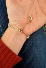 LDayDesigns Emerald Cut Tennis Bracelet/Rose