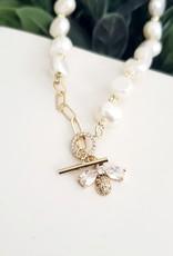 LDayDesigns Honeybee Pearl Bracelet
