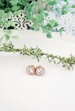 LDayDesigns Crown Stud Earrings