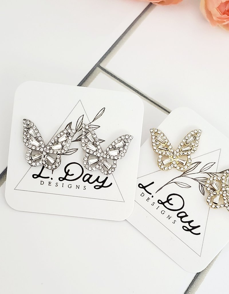 LDayDesigns Gold Dazzle Butterfly