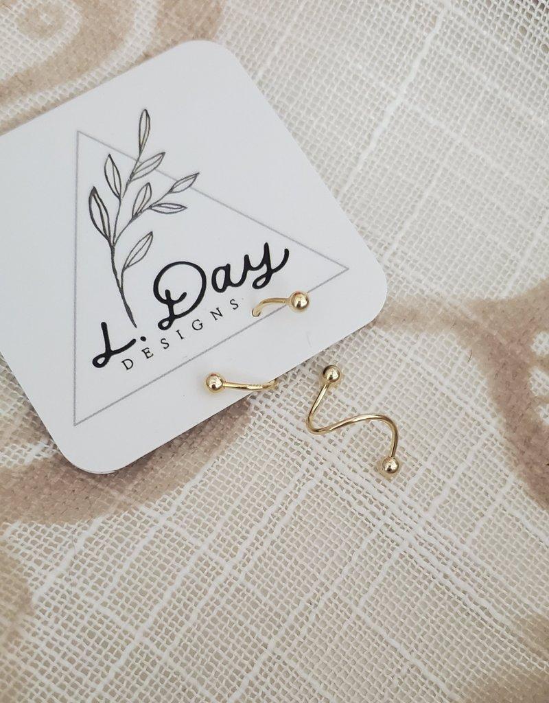 LDayDesigns Sterling Silver Ear Twist