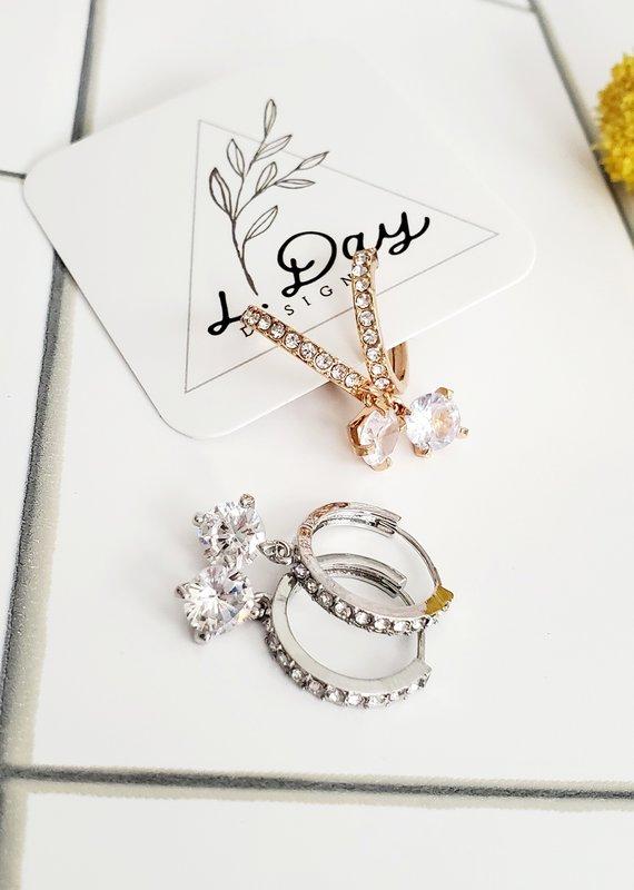 LDayDesigns Diamond Dangle