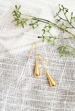 LDayDesigns Gold Drop Earrings/Stainless Steel