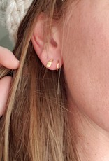 LDayDesigns Hammered Ear Twist