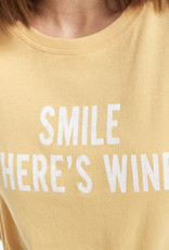Smile There's Wine Tee