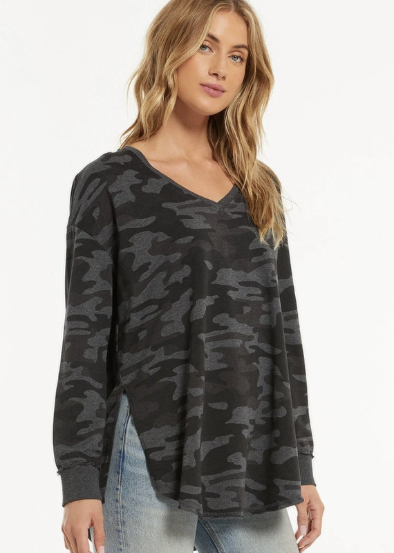 V-Neck Weekender-Dusty Camo
