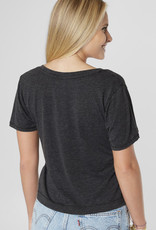 Classic Skimmer Tee-Blk