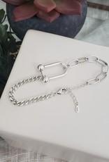 LDayDesigns Sterling Silver U Bracelet
