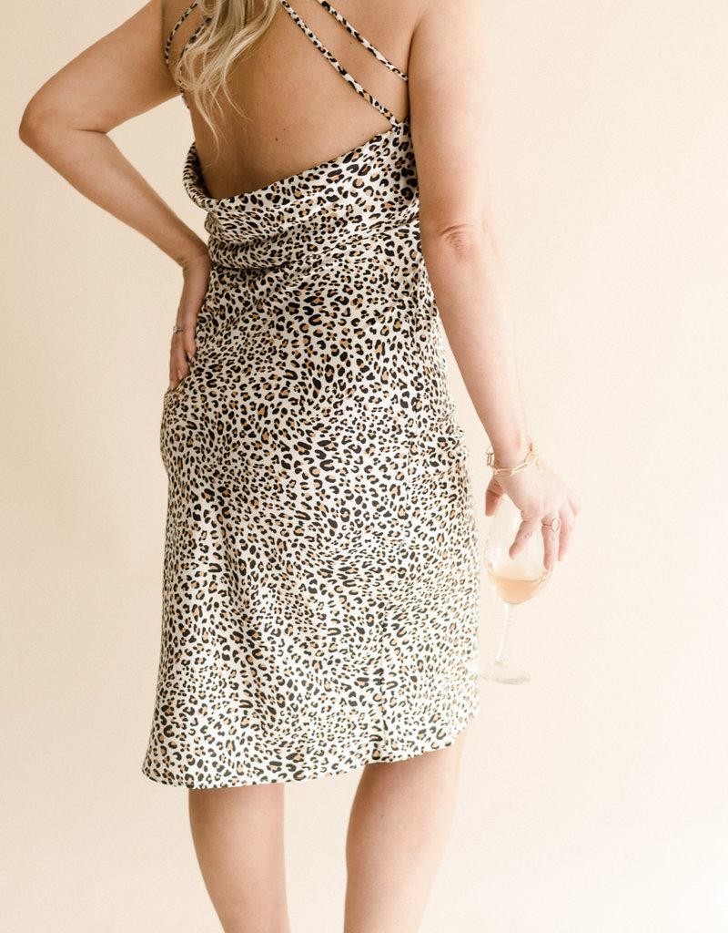 Leopard Slip Dress