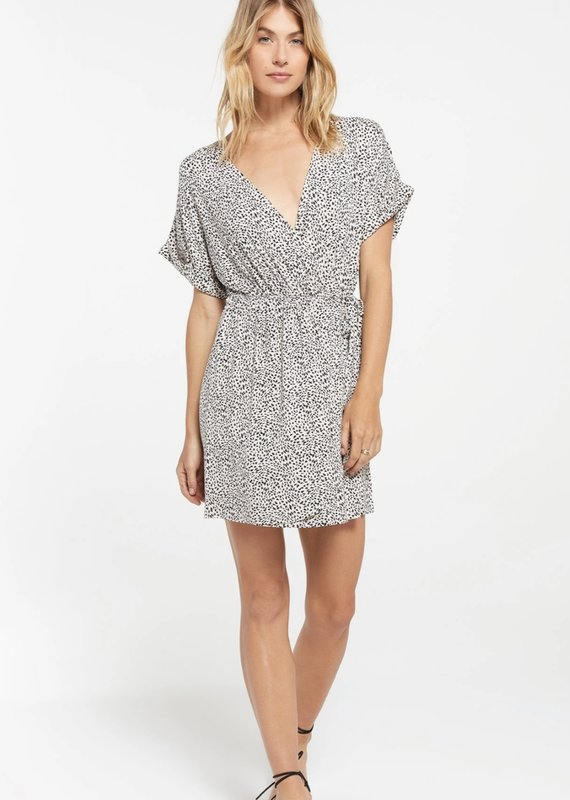 Torre Leopard Wrap Dress
