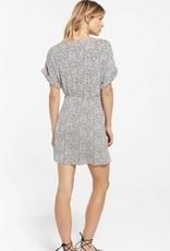 Torre Leopard Wrap Dress