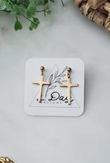 LDayDesigns Cross Post Earrings