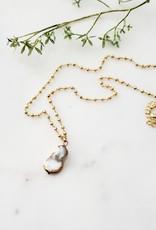 LDayDesigns Mother of Pearl Necklace
