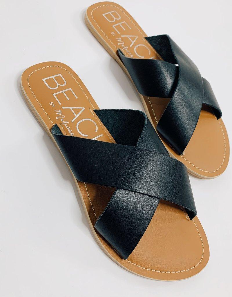 Pebble Slides- Black