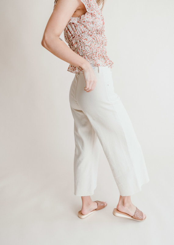 Dear John Audrey Wide Leg Crop