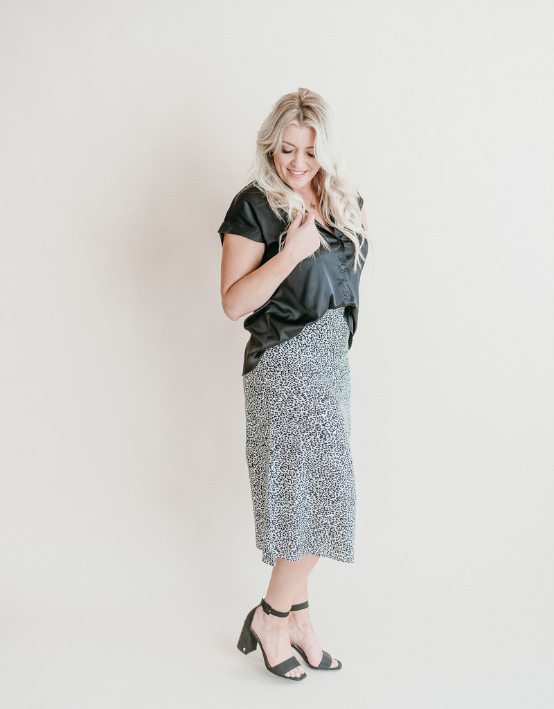 Lily Leopard Skirt